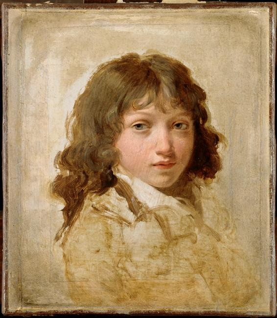 Portrait d un fils de Boilly. Louis Léopold Boilly